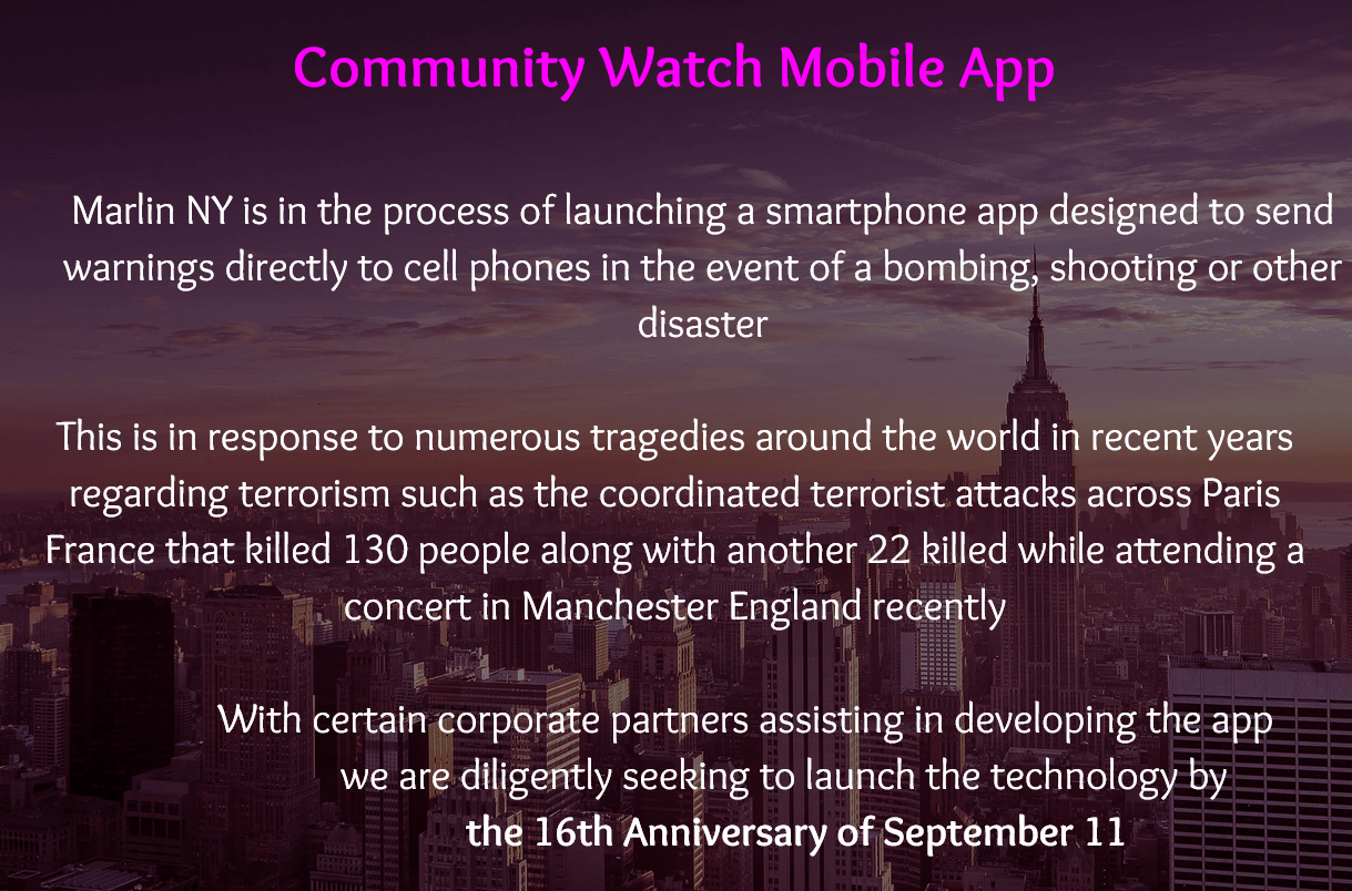 Community Watch App Links to Drones to Fight Against Terror - #UD 2