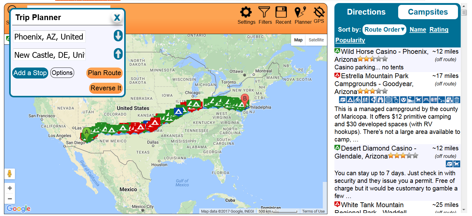 New Route Planning Tool Makes Planning a Budget Road Trip Easy - #UD 3