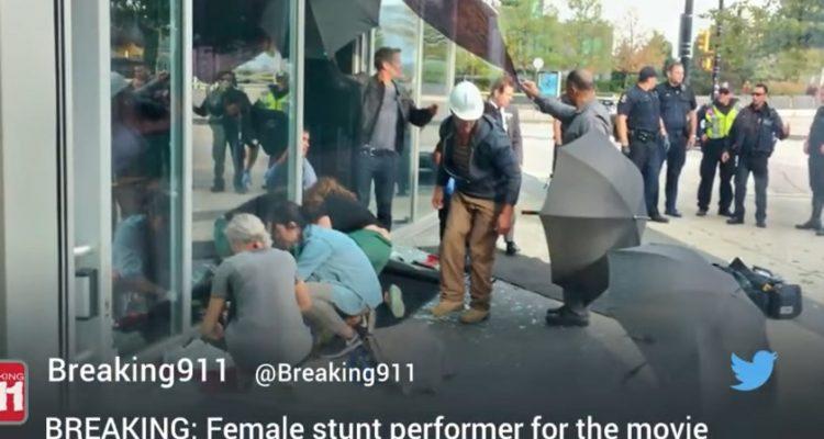 Stuntwomen Dies in Motorcycle Stunt on the Set of Deadpool 2 - #UD 1
