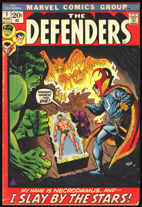 The (Original) Defenders Origin Story | Comic #1 - #UD 2
