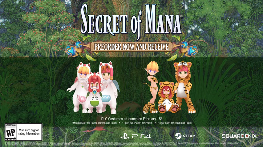 Secret Of Mana Remade With Updated Visuals & Sound - #UD 2