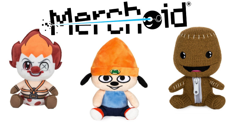 Merchoid Official Playstation Character Plushes - #UD 1