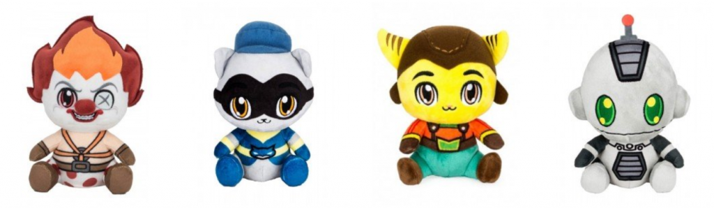 Merchoid Official Playstation Character Plushes - #UD 2