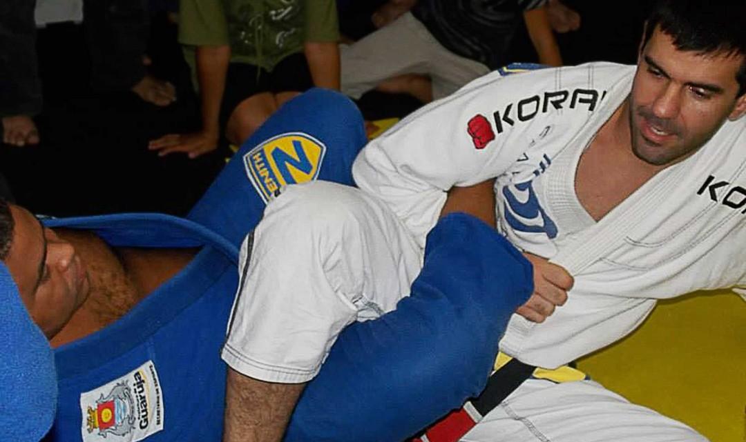 Former Pro Fighter Roli Delgado Now Training Jiu Jitsu Fighters - #UD 1
