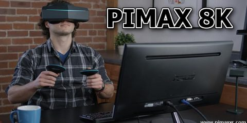 Pimax 8K VR Headset | Cutting Edge Virtual Reality Technology - #UD 1