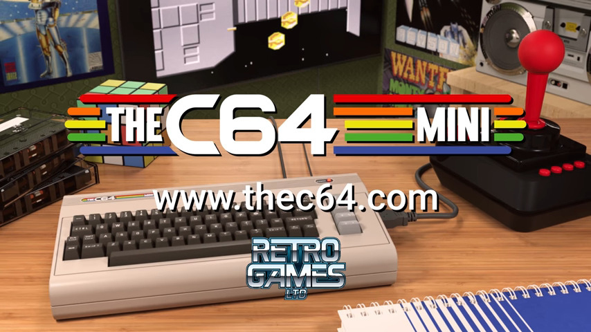 THEC64® Mini Coming In Early 2018 - #UD 1