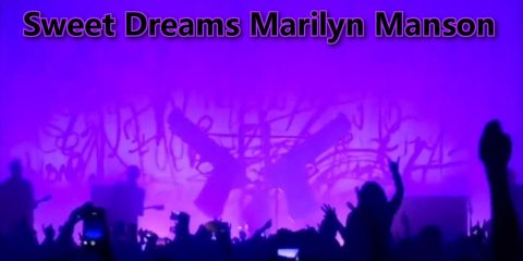 Marilyn Manson Crushed By Giant Gun Prop - #UD 1