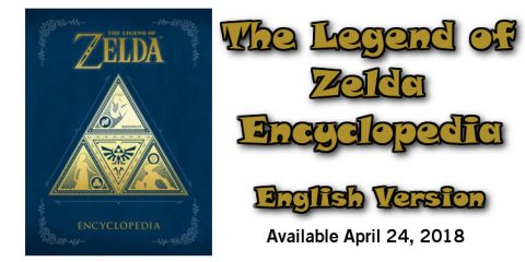 "Dark Horse & Nintendo Present ""The Legend of Zelda Encyclopedia"" in English - #UD 1"