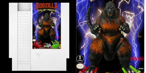Godzilla: Save All Monsters | NES Retro Romhack - #UD 3