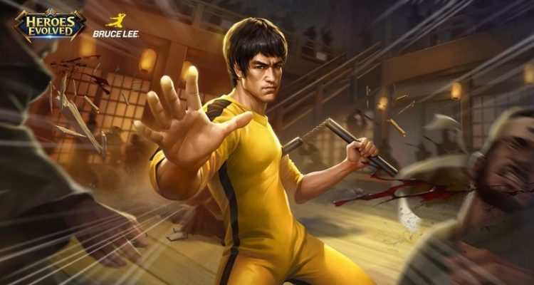 Bruce Lee Coming To Heroes Evolved - #UD 1