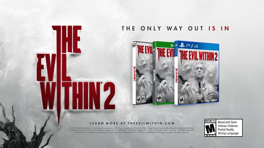 The Evil Within 2 Now Available Worldwide On PS4, XB1 & PC - #UD 1