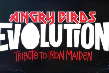 Iron Maiden Mascot Eddie Invades Angry Birds Evolution - #UD 1