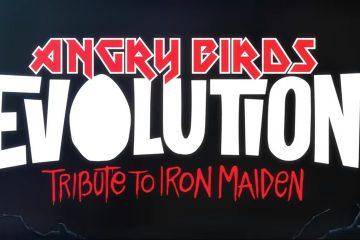Iron Maiden Mascot Eddie Invades Angry Birds Evolution - #UD 1
