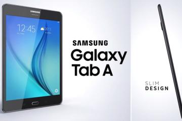 Samsung Introduces The New Samsung Galaxy Tab A - #UD 1