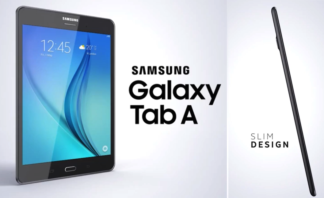 Samsung Introduces The New Samsung Galaxy Tab A - #UD 1