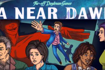 A Near Dawn | Dark Funny Adventure Game on KickStarter! - #UD 1