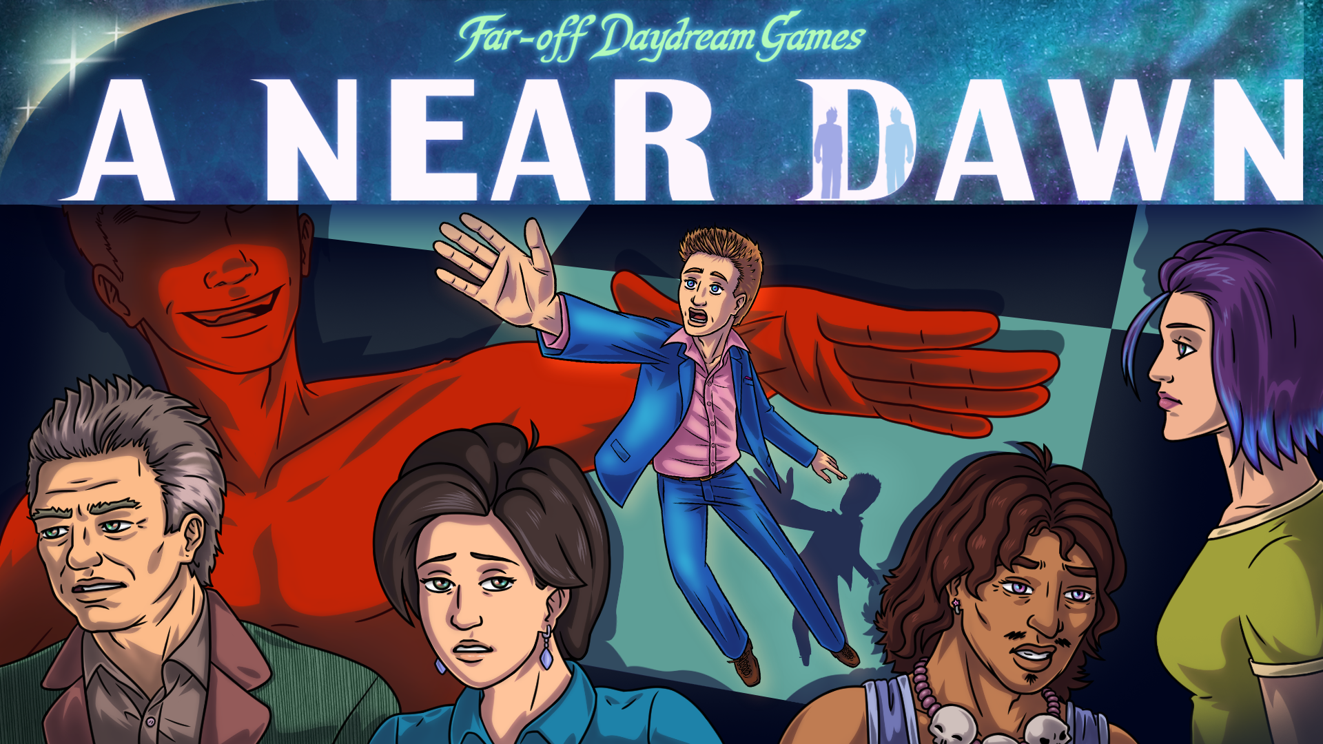 A Near Dawn | Dark Funny Adventure Game on KickStarter! - #UD 1