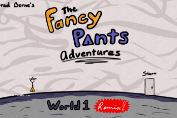 Fancy Pants Adventures: World 1 Remix | Play Free Here! - #UD 1
