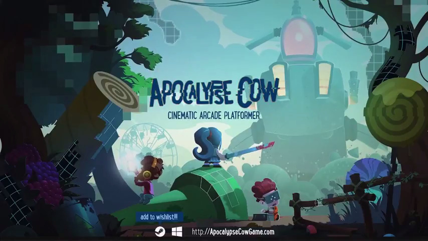 Apocalypse Cow | Cinematic Arcade Awesomeness - #UD 1